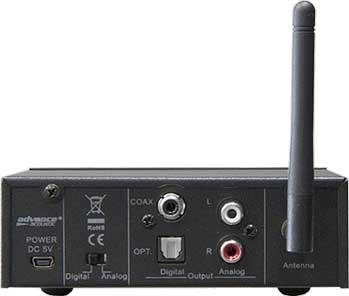 Advance Acoustic WTX-1000 arrière