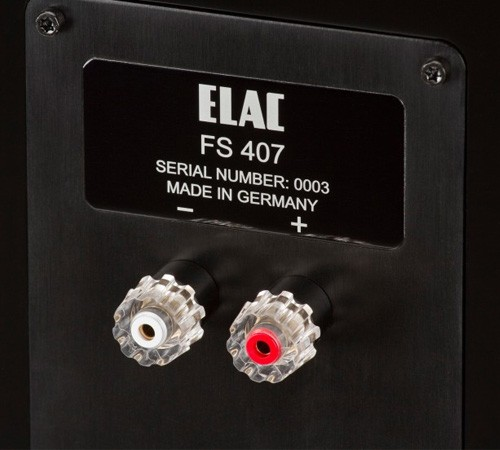 ELAC FS 407 arriere