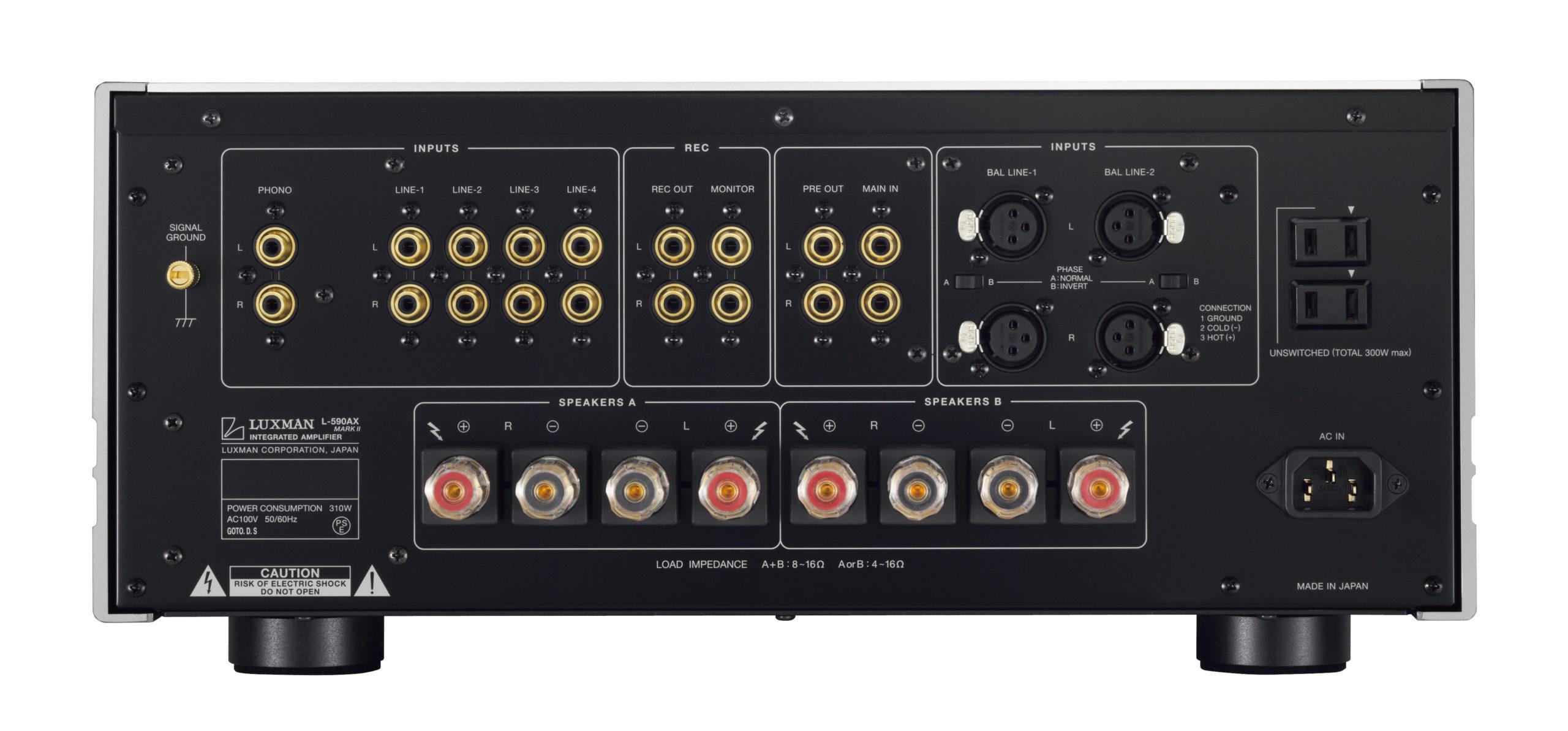 Découverte de l'amplificateur Luxman L-590AXII